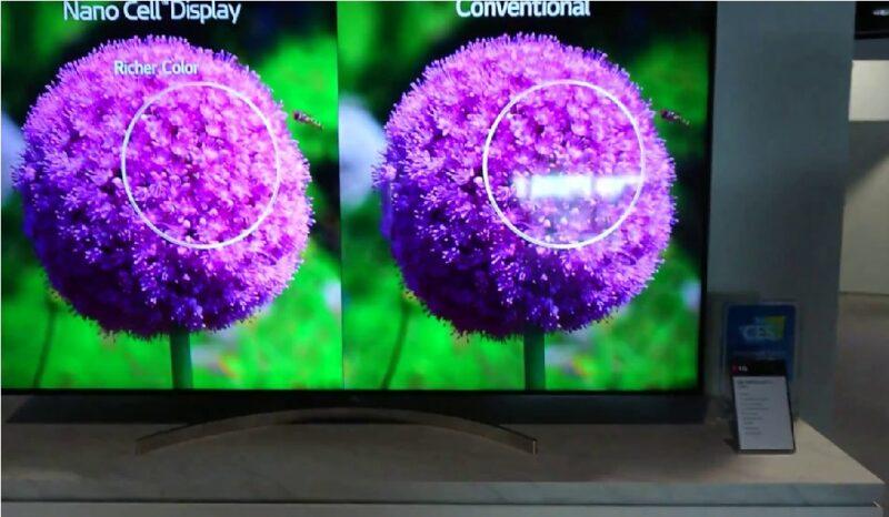 فناوری نانوسل در تلویزیون ال جی چیست؟