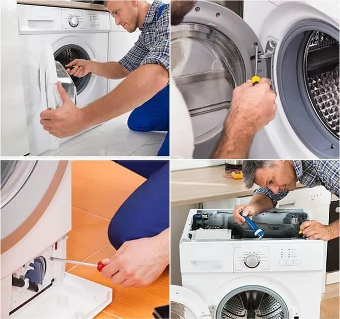 علت و جلوگیری از لرزش ماشین لباسشویی