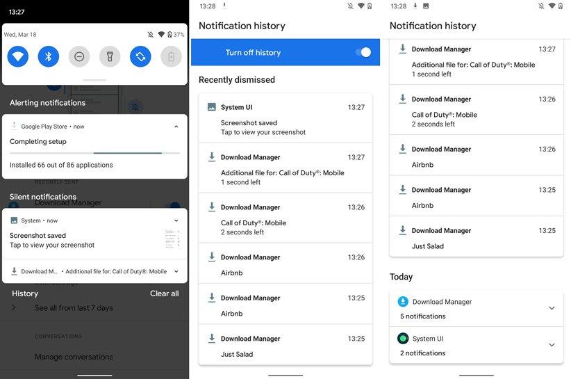 ویژگی ها و تغییرات نسخه دوم  Android 11