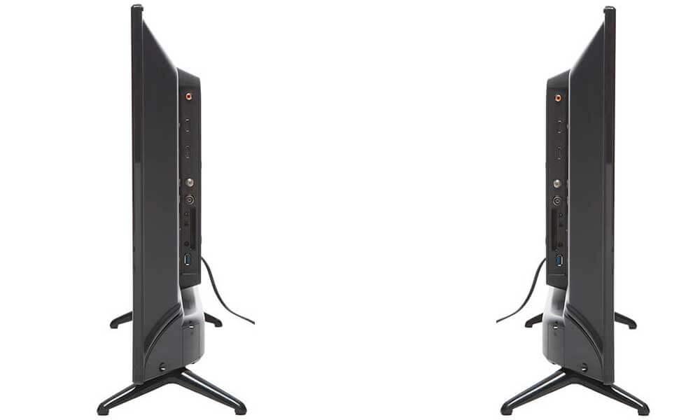 نمای کناری تلویزیون LED استار ایکس ۳۲ اینچ مدل ۳۲LB650V